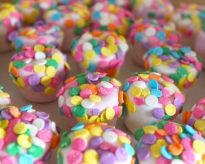 Polka Dot Marshmallows