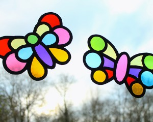 Butterfly Belle's Pretty Stained Glass Butterflies
