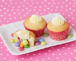 Sweetie Surprise Cupcakes