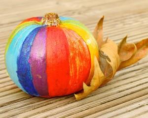 Rainbow Pumpkin