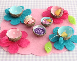 Fairy Acorn Tea Set