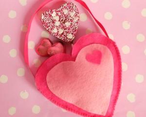 Love Belle's Heart Bag