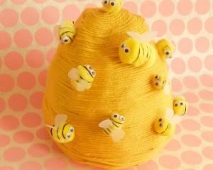 Make a Cute Beehive!