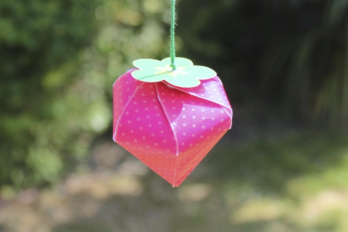 Sweet Strawberry Pendant